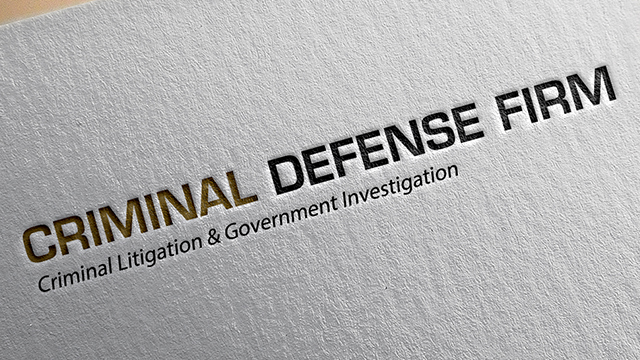 Criminal Defense Firm Branding by Eight Shades Media