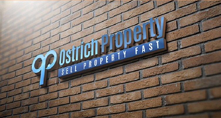 Ostrich Property Logo Design Eight Shades Media