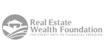 Real Estate Wealth Foundation Logo Design